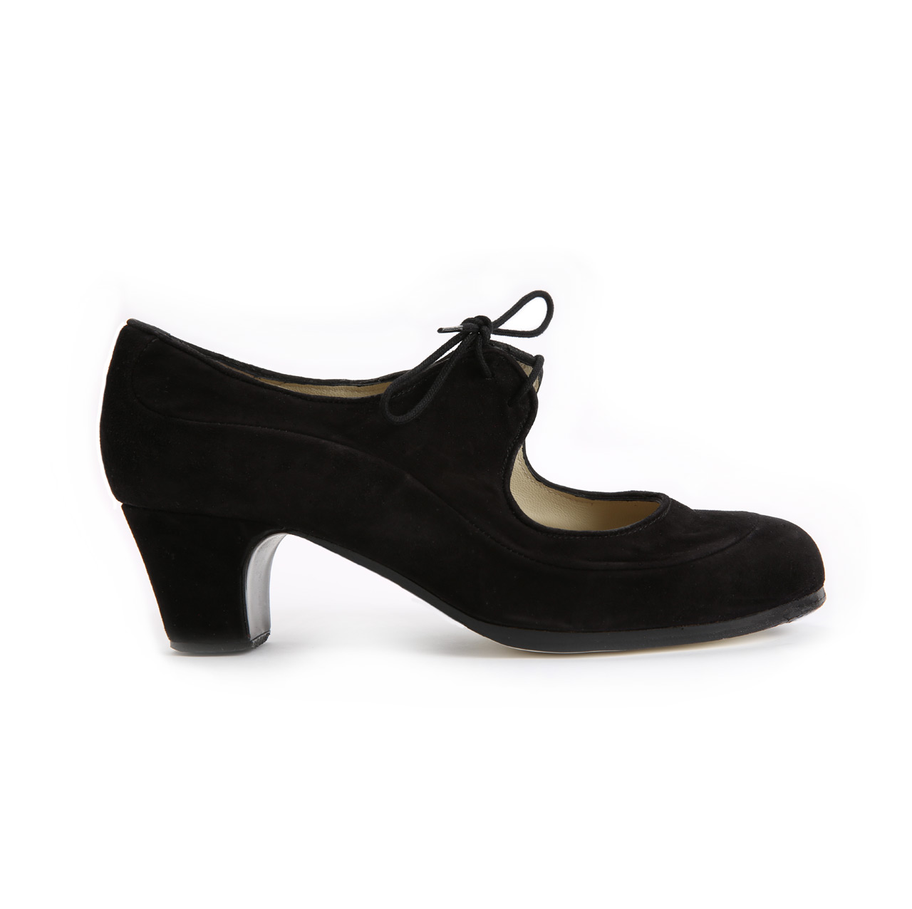 Flamenco dance Shoe Angelito Suède Black Ba