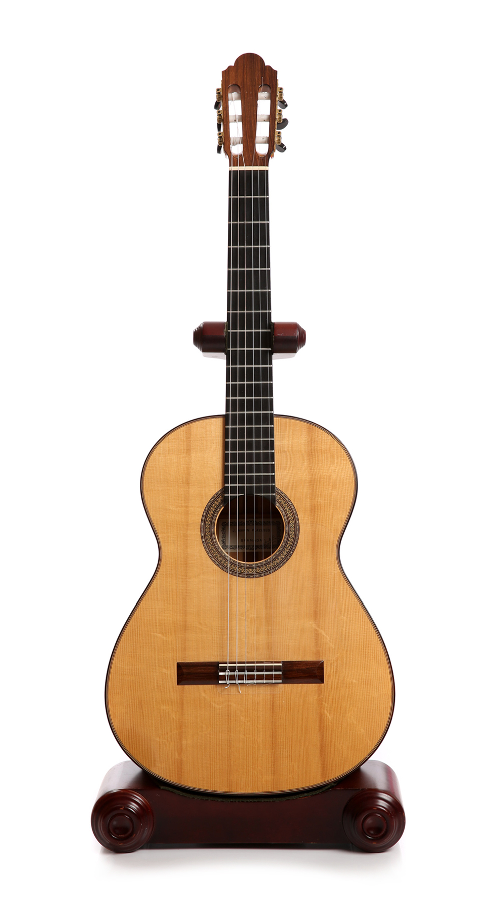 Jose Marin Plazuelo flamenco guitar blanca 2011 No 690