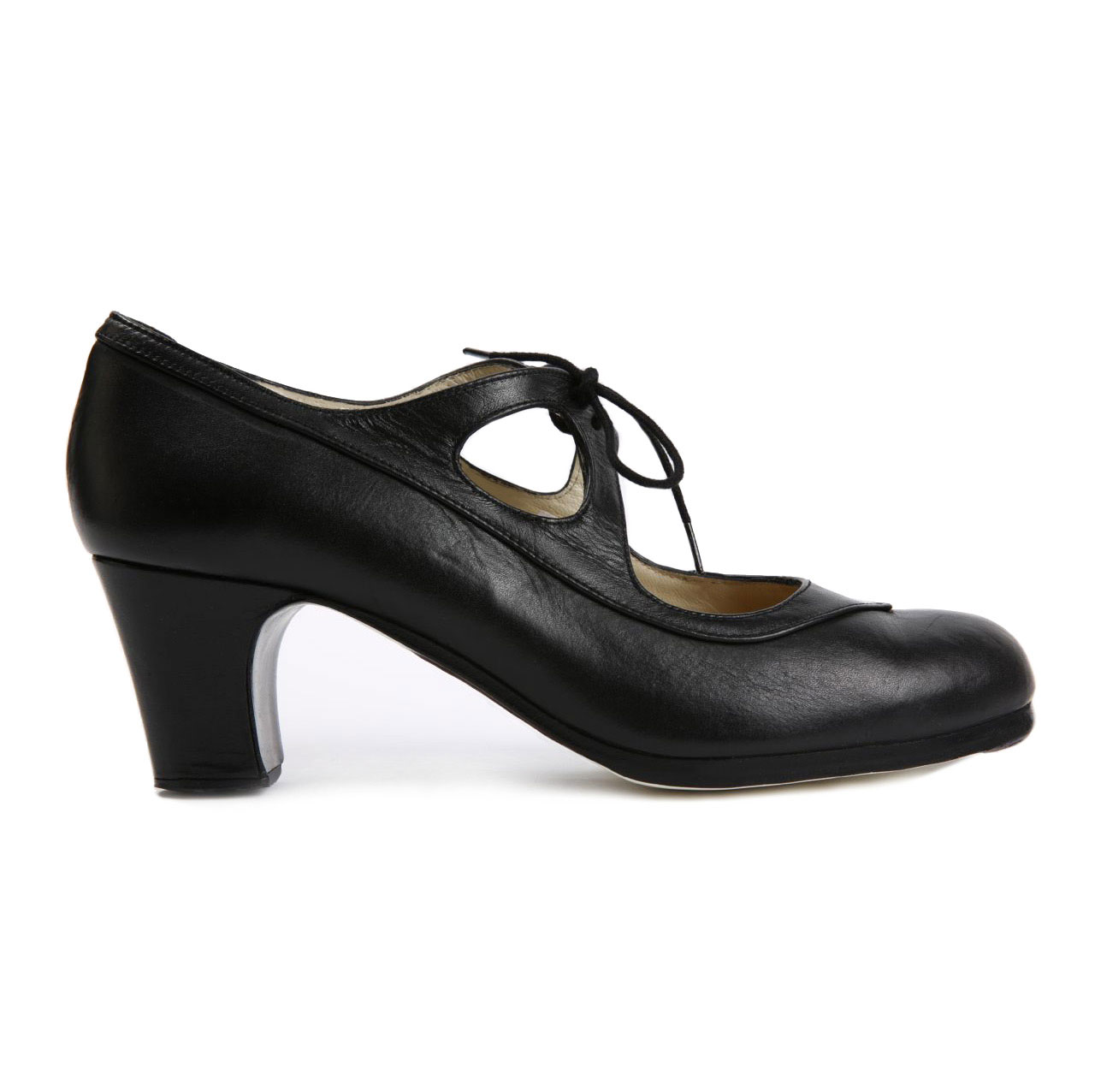 Flamenco dance Shoe Candor Black Leather