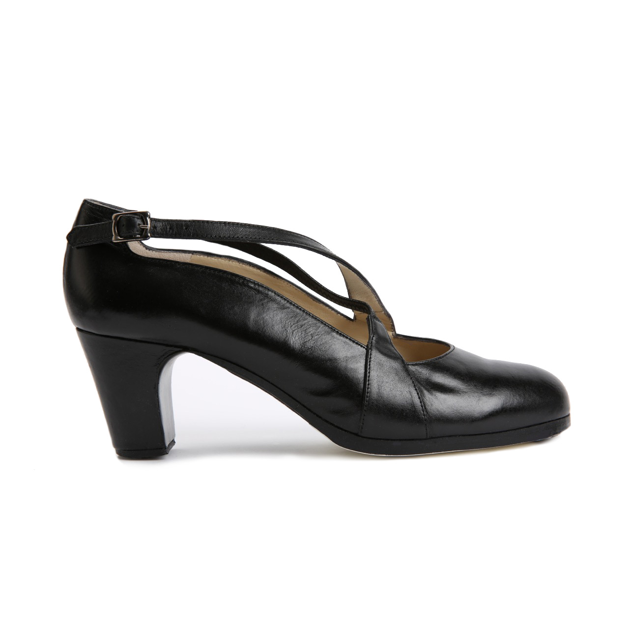 Flamenco dance Shoe Cruzado II Black