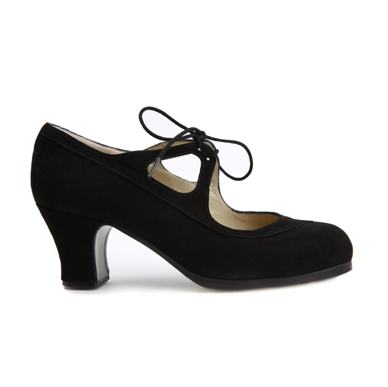 Flamenco dance Shoe Candor Suède Black