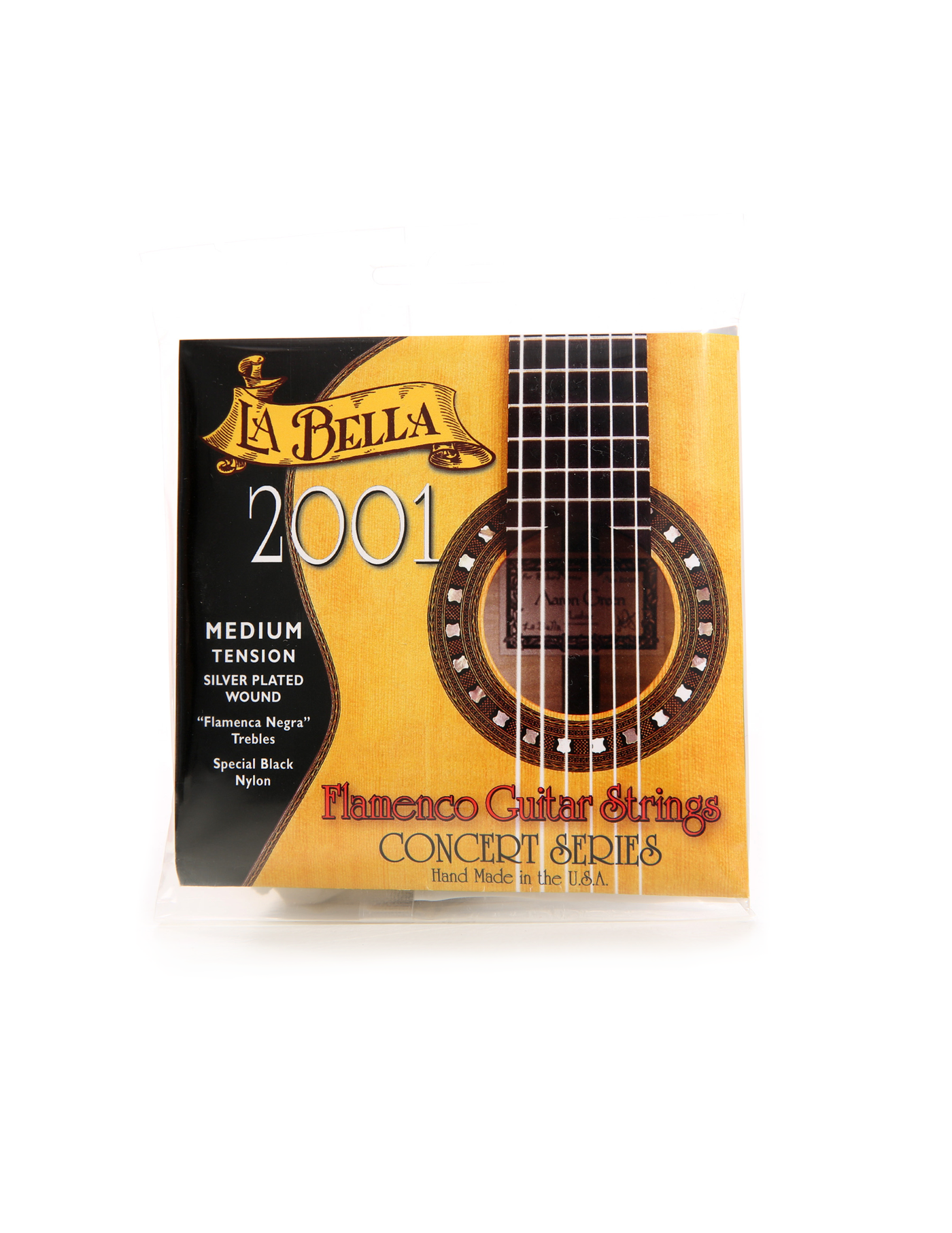 La Bella guitar flamenco strings 2001 normal tension