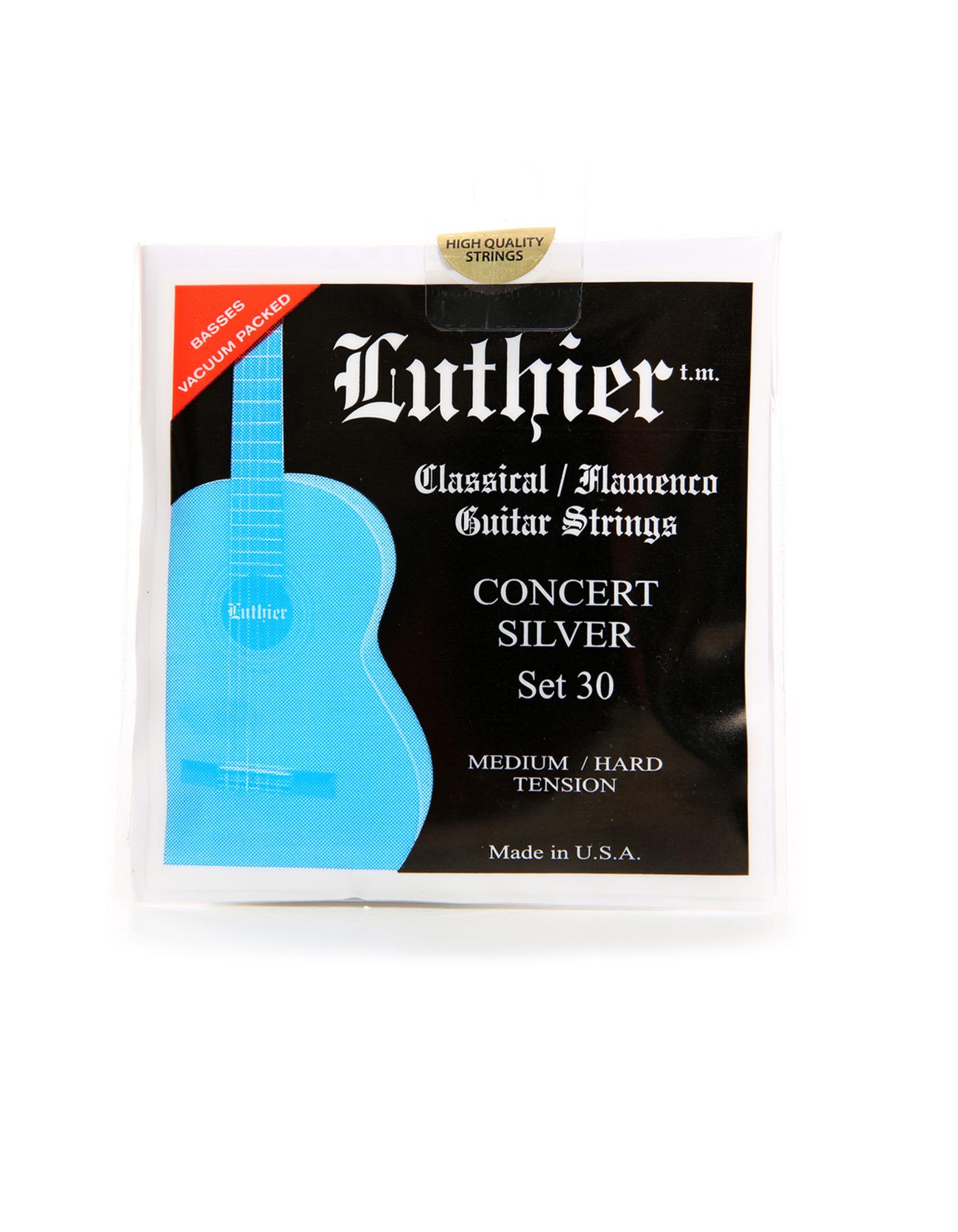 luthier guitar strings 30 medium hard tension strings la sonanta flamenco. Black Bedroom Furniture Sets. Home Design Ideas