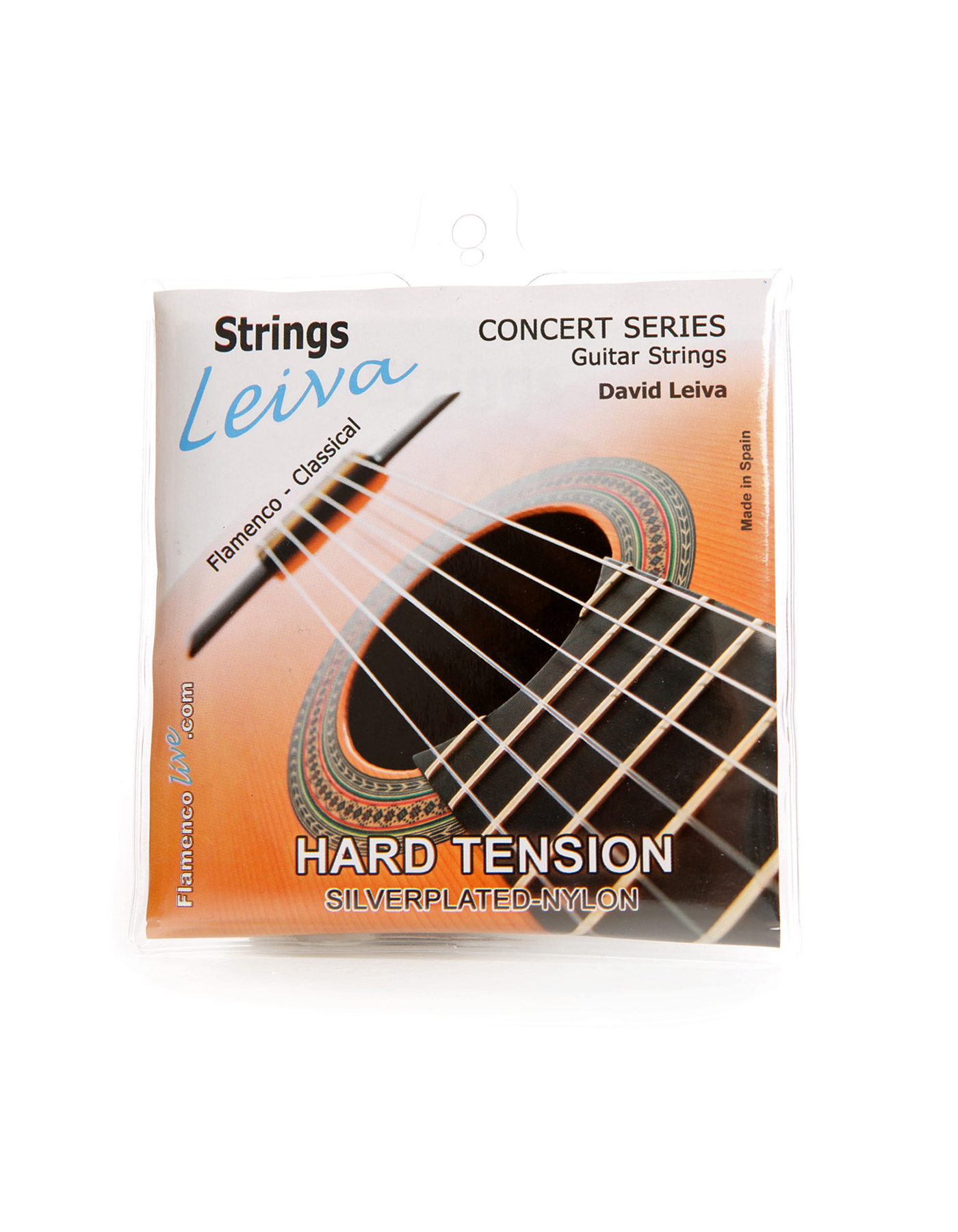 Leiva guitar strings hard tension