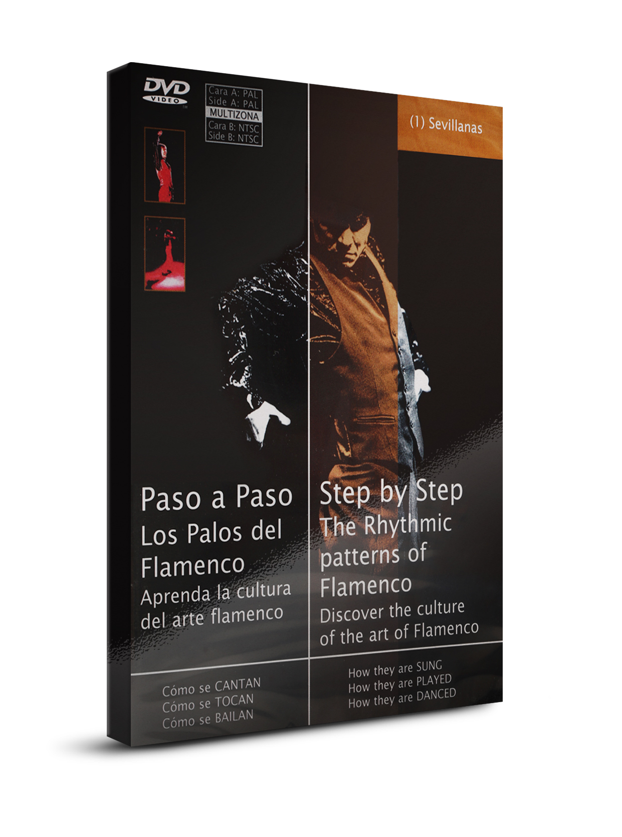 Flamenco dance classes Sevillanas DVD