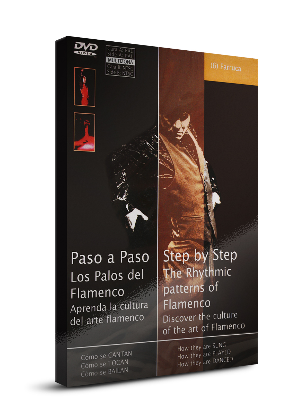 Flamenco dance classes Farruca DVD