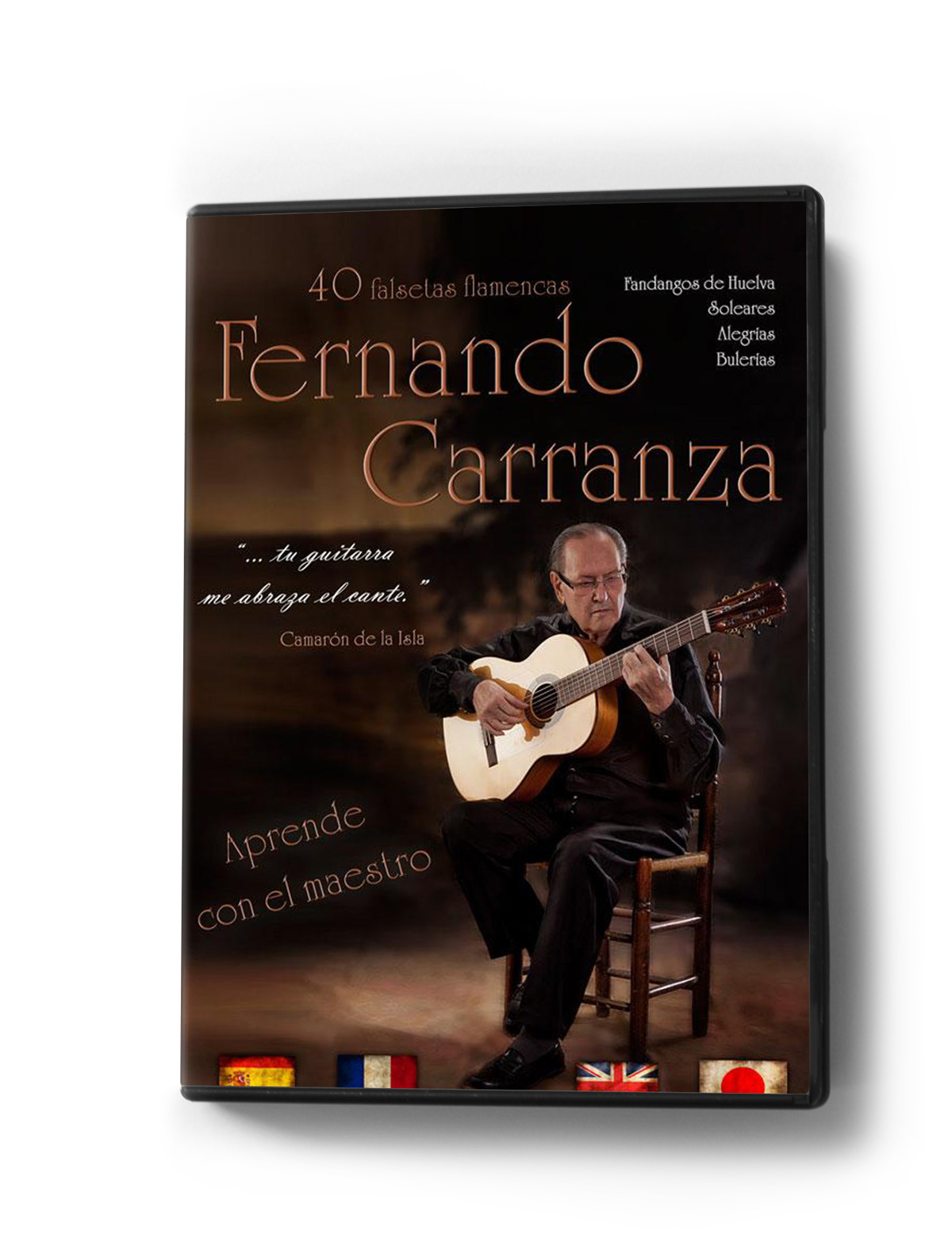 40 flamenco guitar falsetas DVD