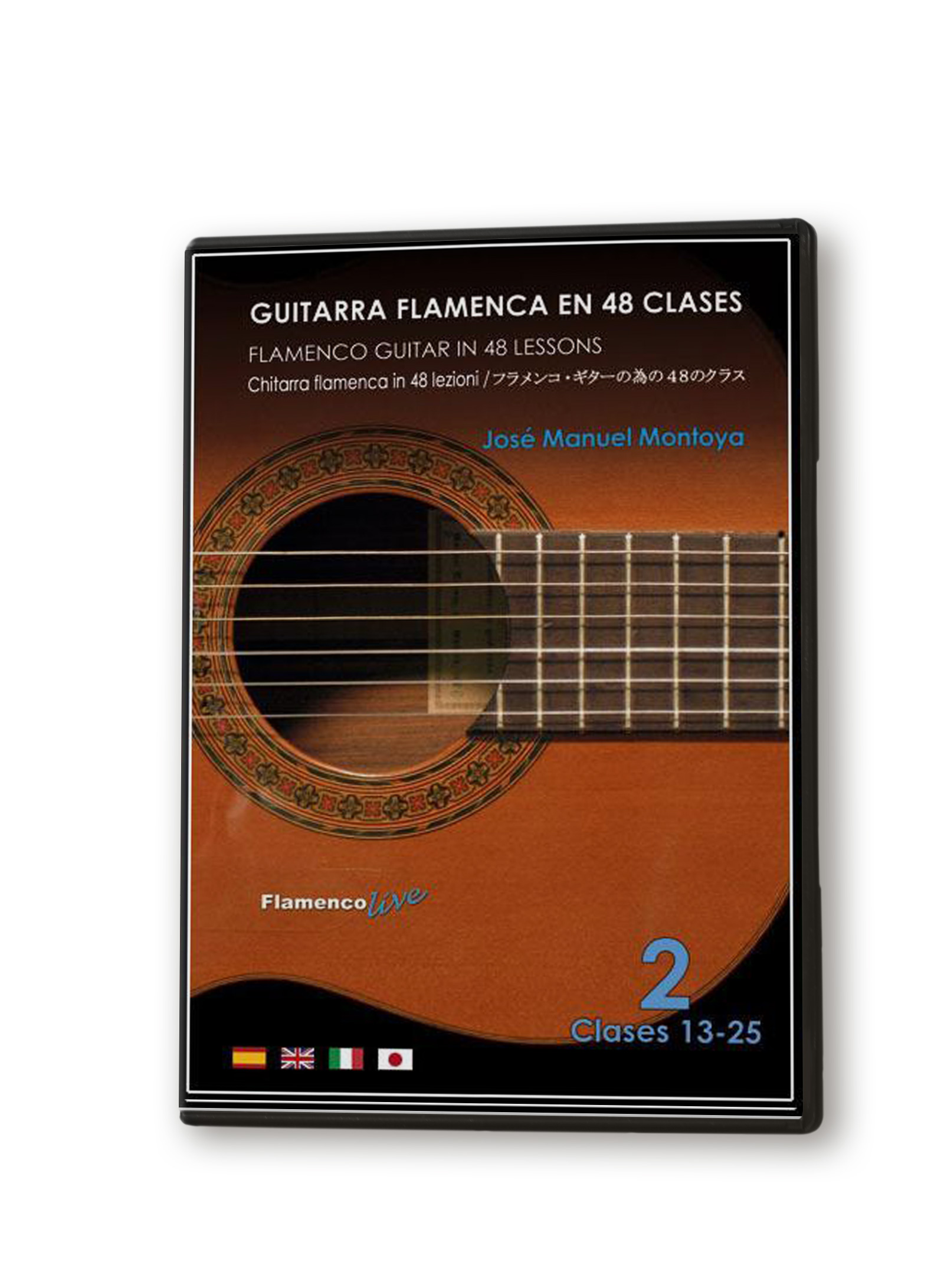 Flamenco guitar in 48 classes DVD 2