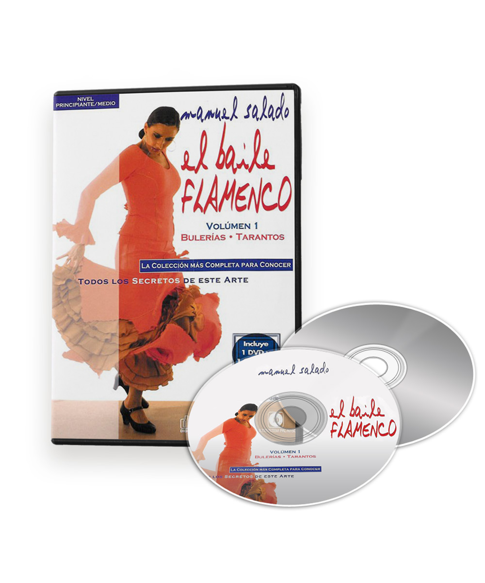Flamenco Dance Classes Bulerias Tarantos Dvd Dance La Sonanta