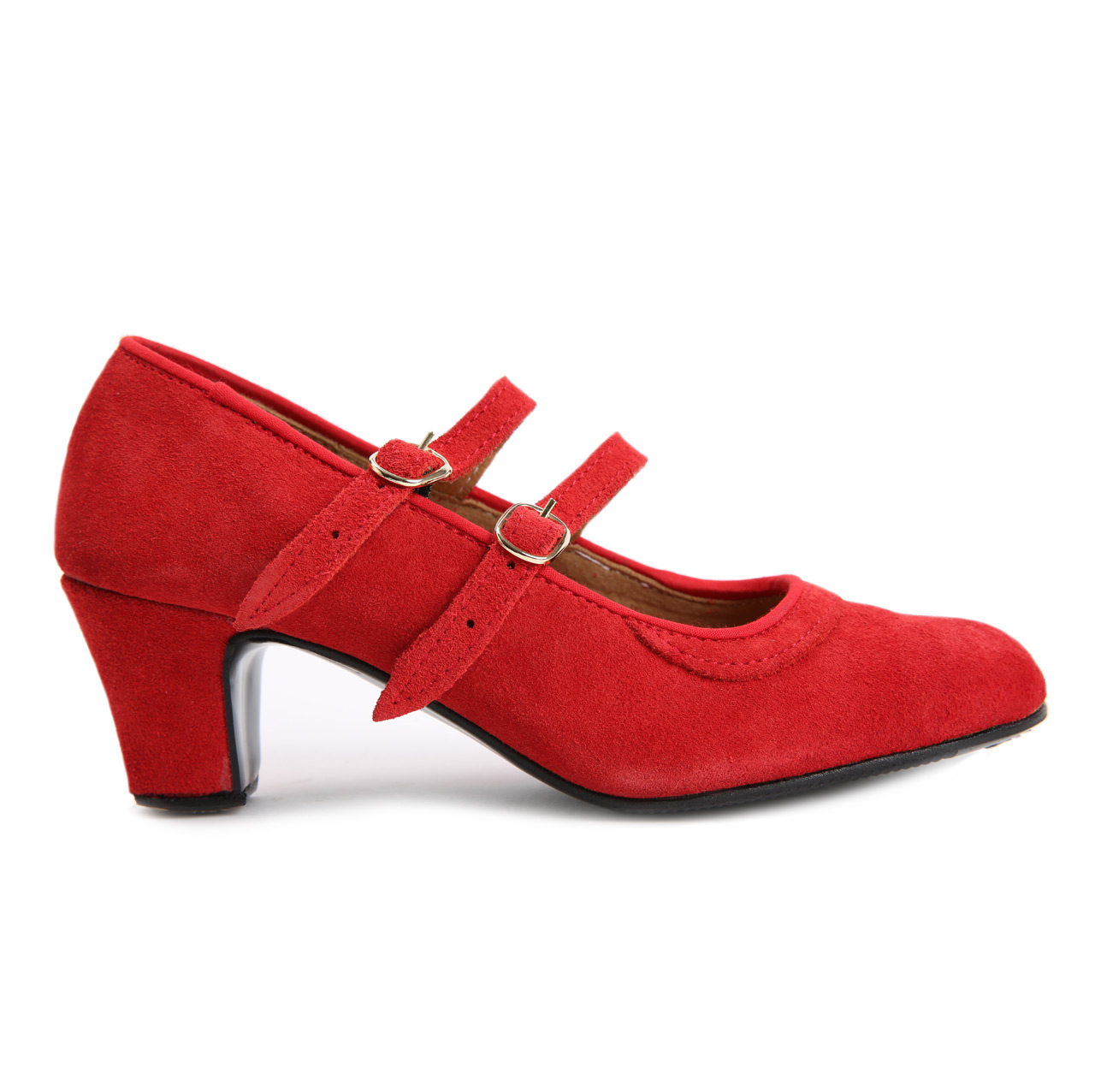 Semi-professional flamenco dance shoes for beginners