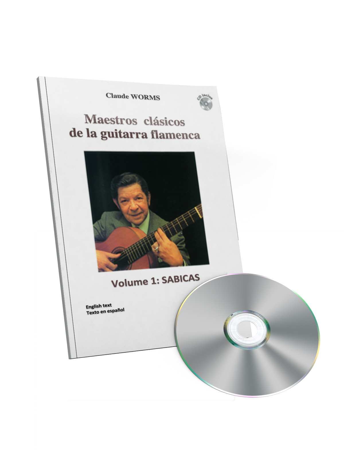 Sabicas guitar score book CD - Classical masters of flamenco guitar