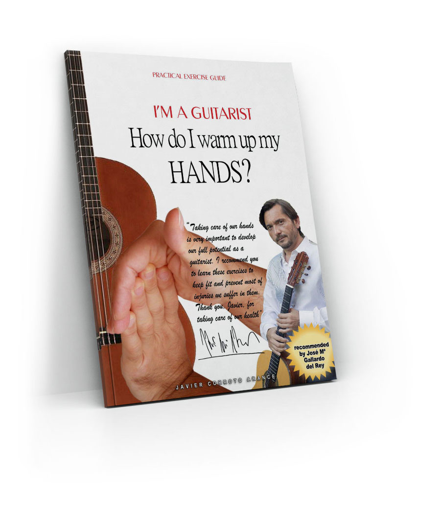Finger warming-up as a pro for guitarists