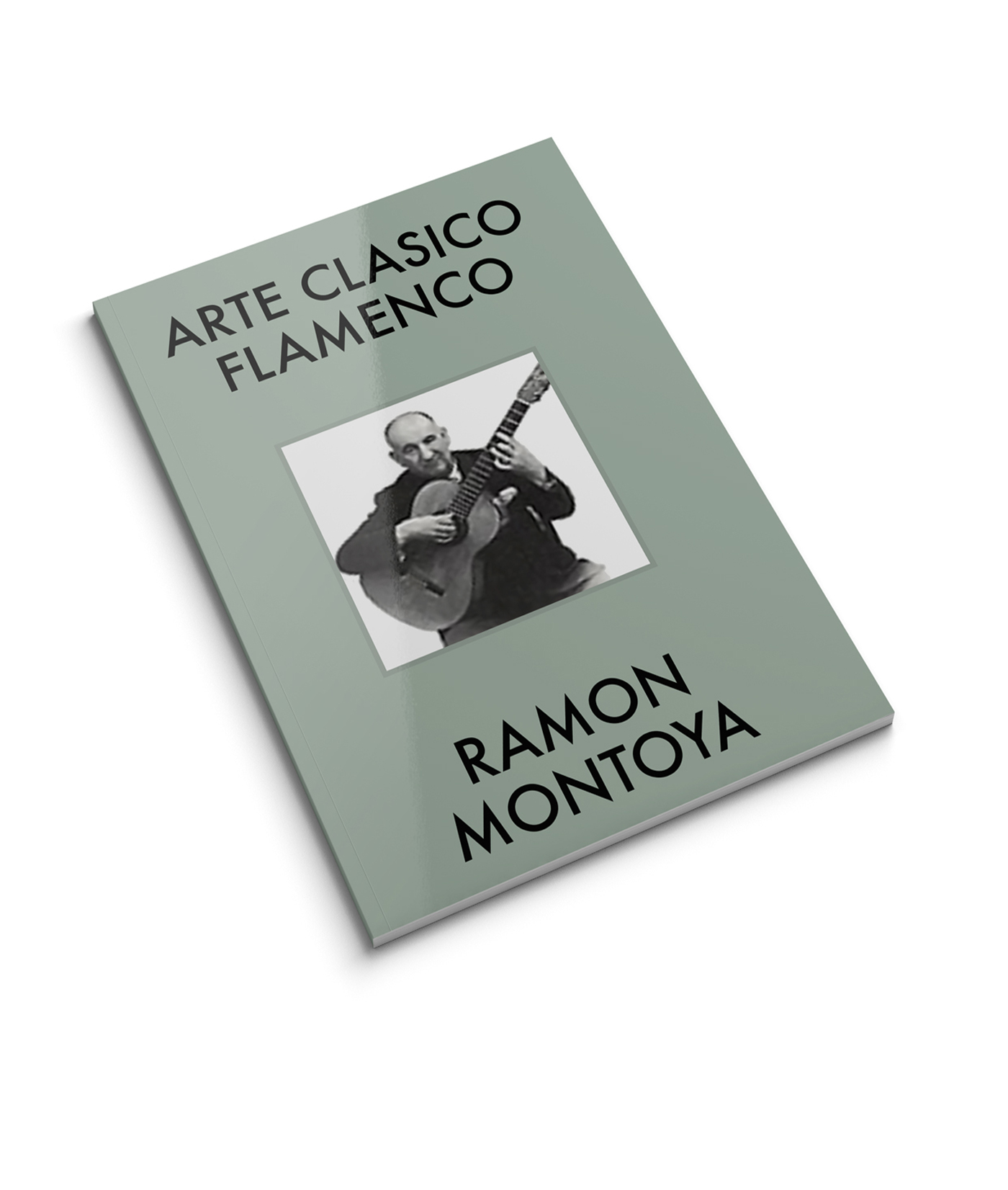 Guitar score book Ramon Montoya