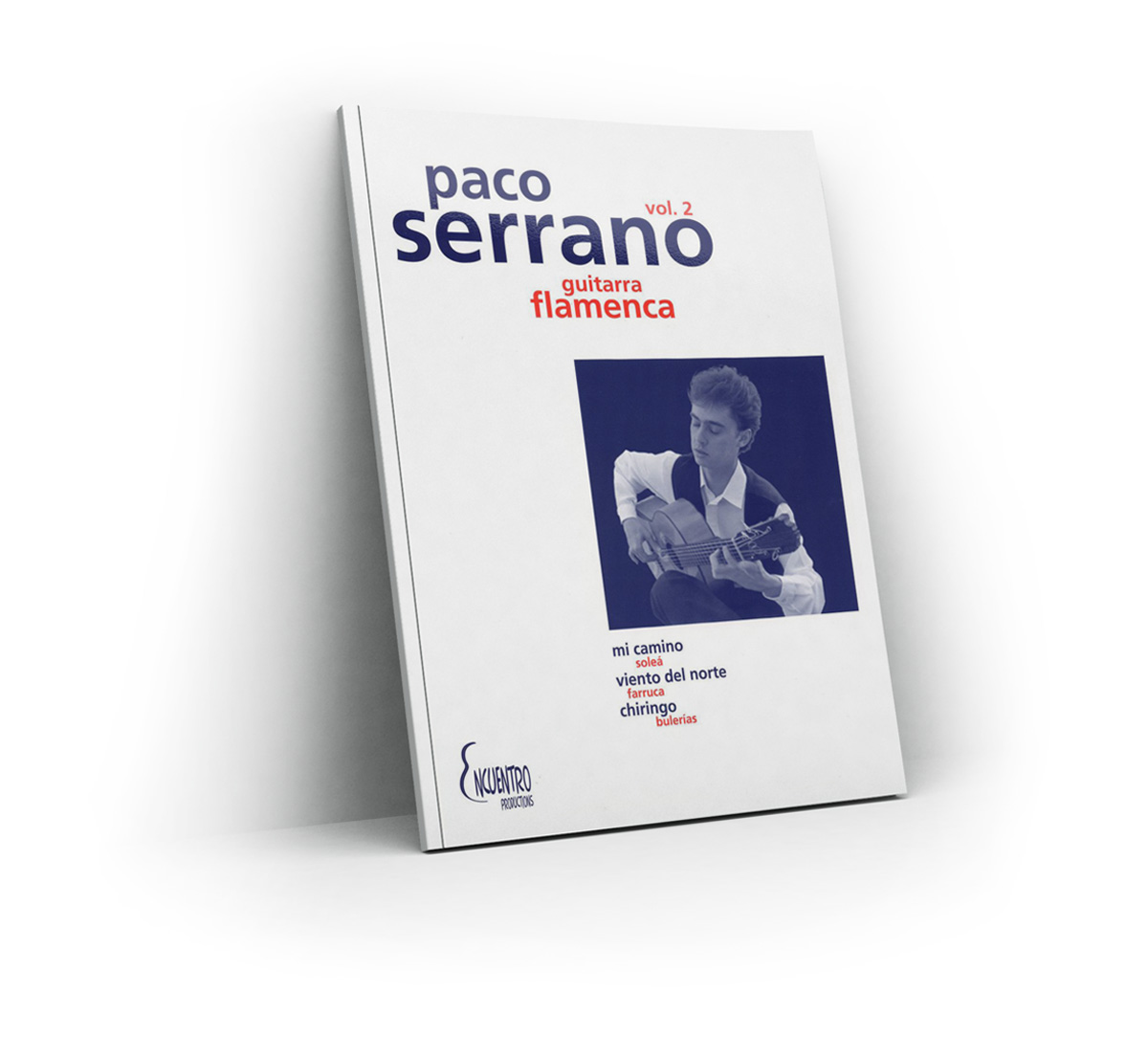Flamenco Guitar Vol 2 (Score book) - Paco Serrano