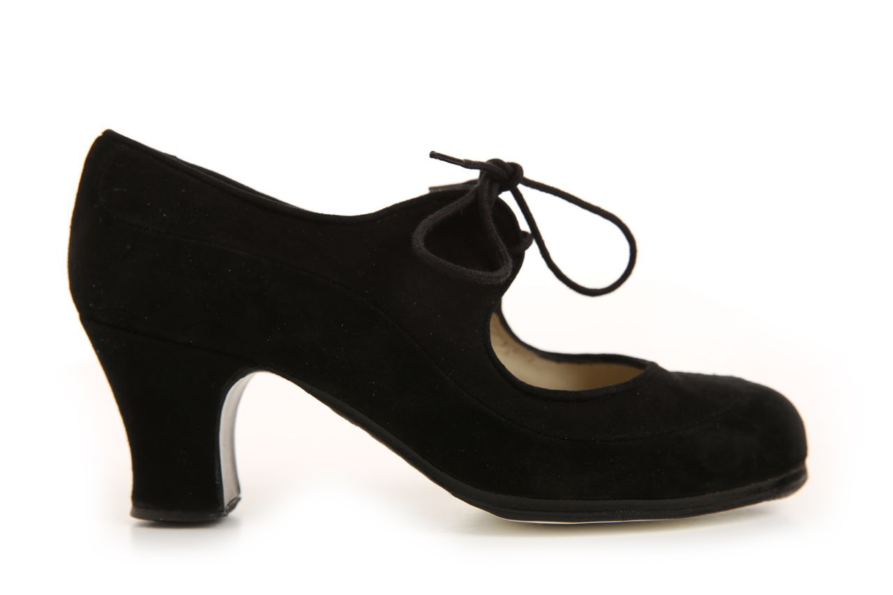 Flamenco dance Shoe Angelito Suède Black Ca