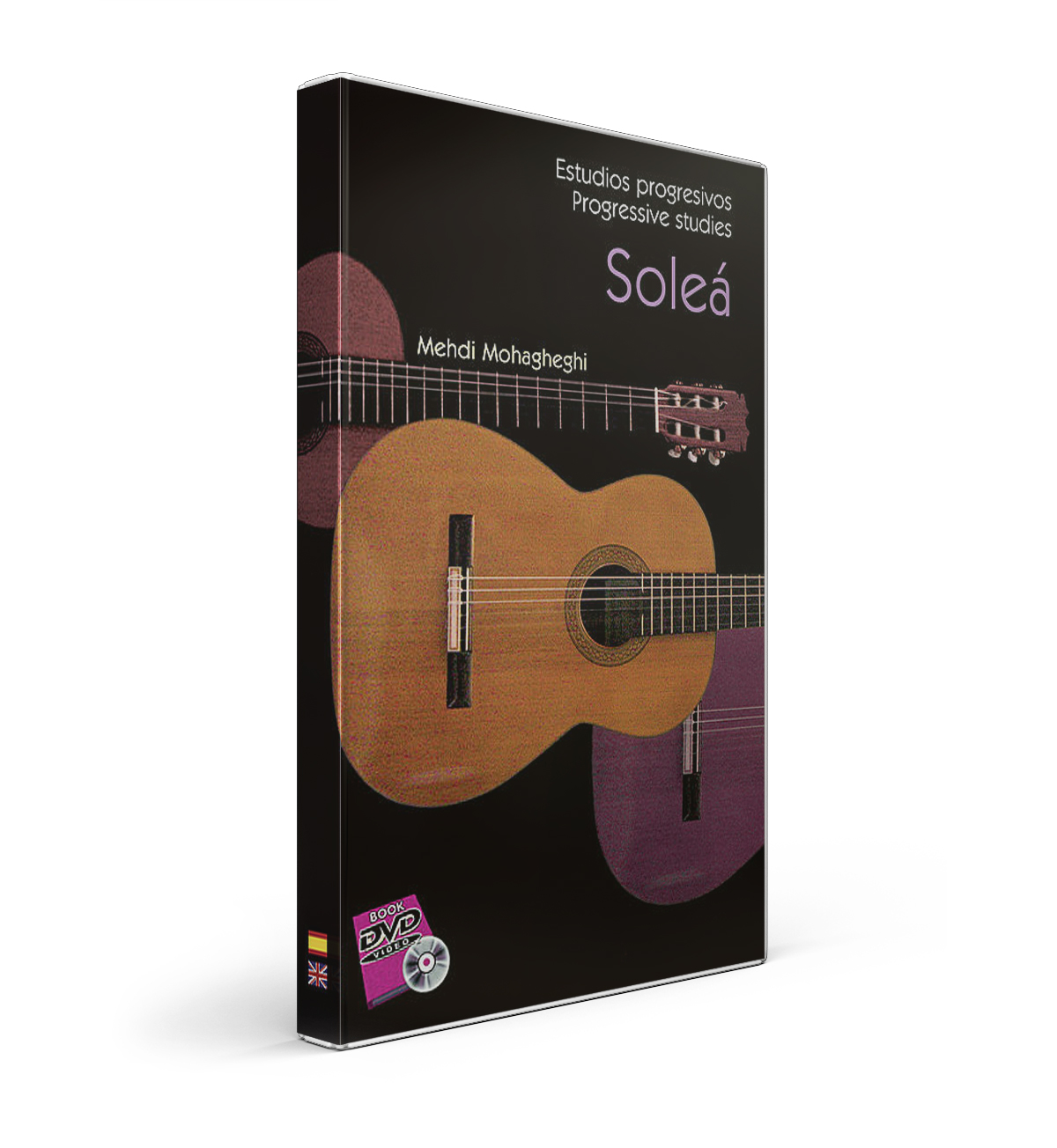 43 Soleá flamenco guitar studies DVD Book