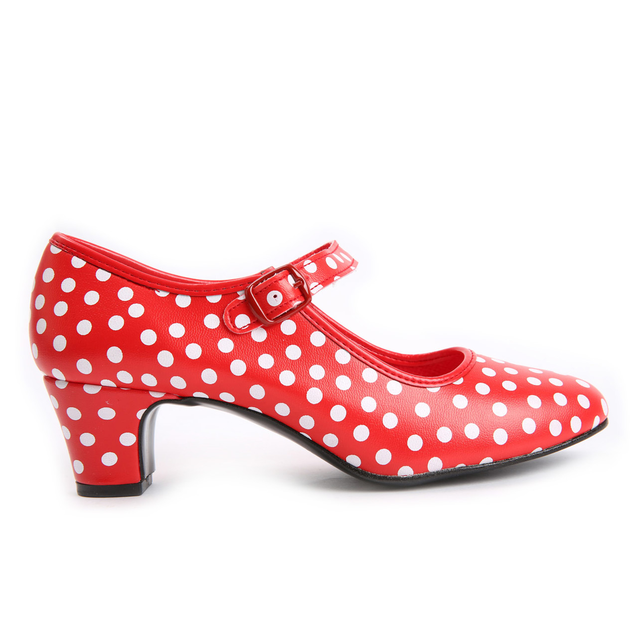 Flamenco Dance Shoe Polka Dots