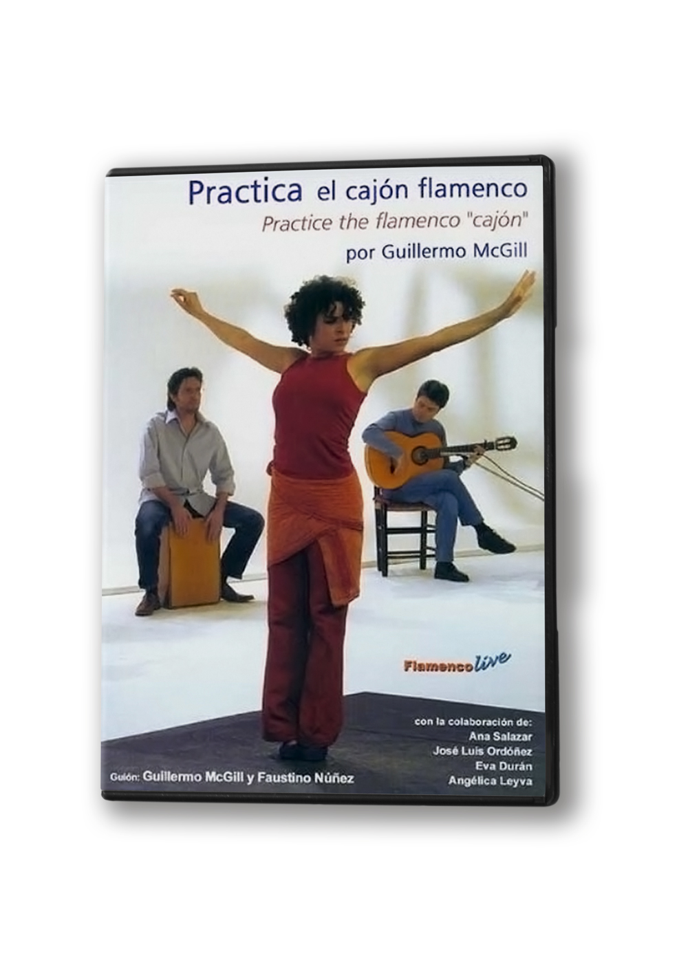 Practice the flamenco cajon DVD