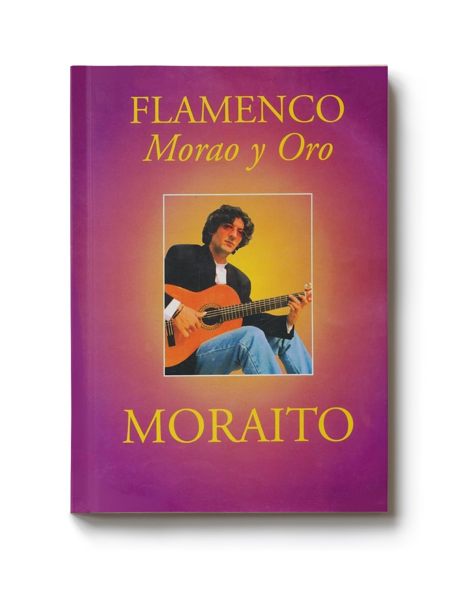 Guitar score book Moraito CD Morao y Oro