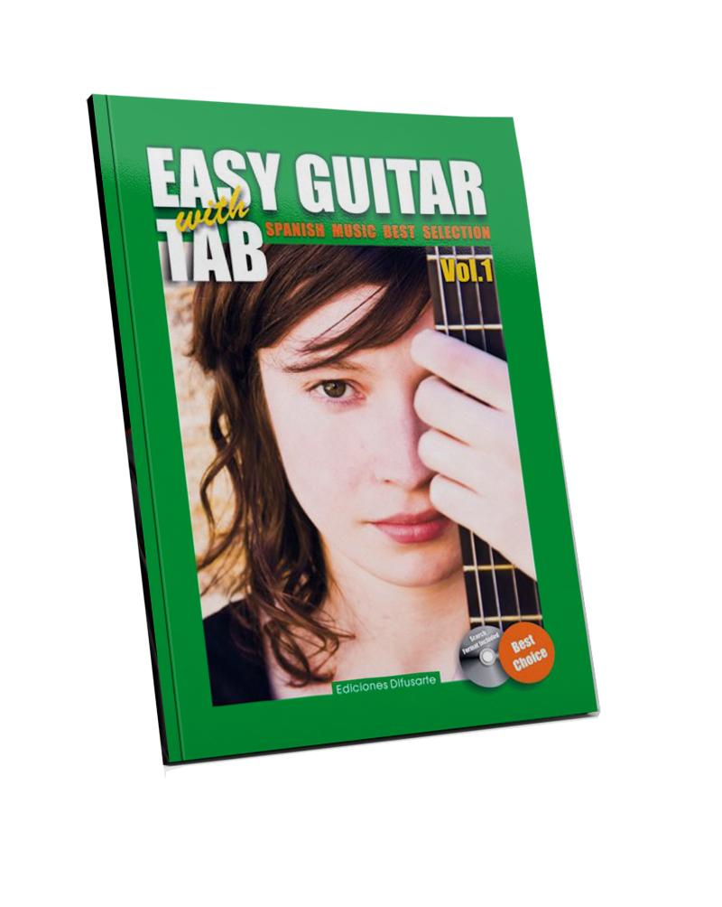Easy guitar, best Spanish music