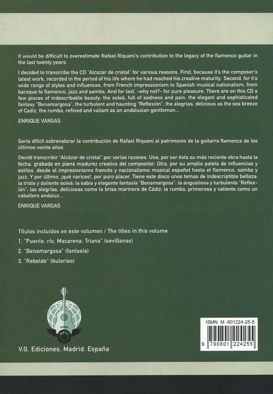 Guitar Score Book Sheet Music La Sonanta Flamenco
