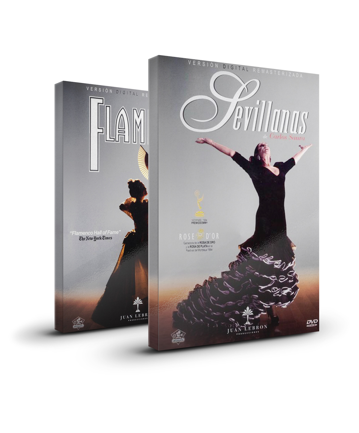 Flamenco and Sevillanas (2 DVD) special pack from Carlos Saura