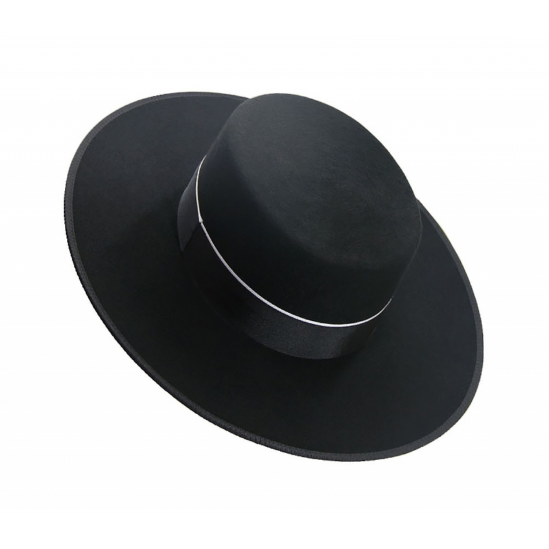 Spanish hat black large size L 61
