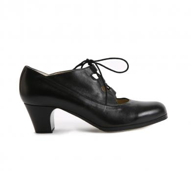Flamenco dance shoe Antiguo Negro