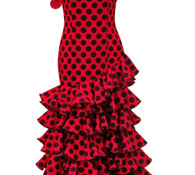 Flamenco Dress Galeria Blue