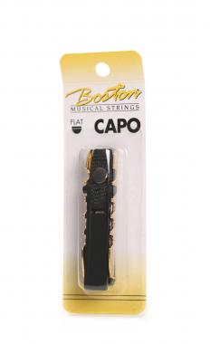 Capo flat gold-plated with adjustable strap