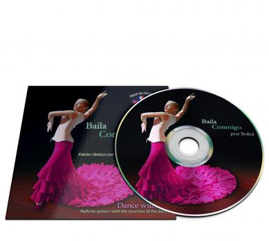 Flamenco dance CD for Solea