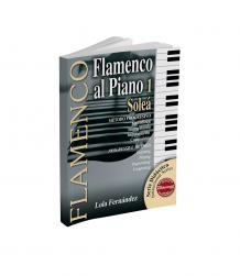 Flamenco piano sheet music book for soleá